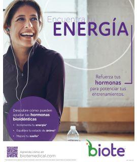 "Acrylic Display INSERT - Energia - Spanish (8.5"" x 11"")"