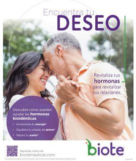 "Acrylic Display INSERT - Deseo - Spanish (8.5"" x 11"")"