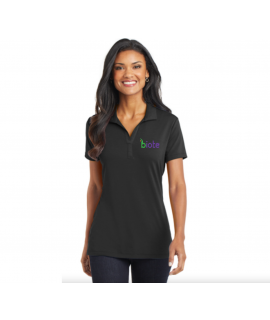 Biote Polo - Medium Woman's (Black)