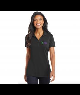 Biote Polo - XL Woman's (Black)